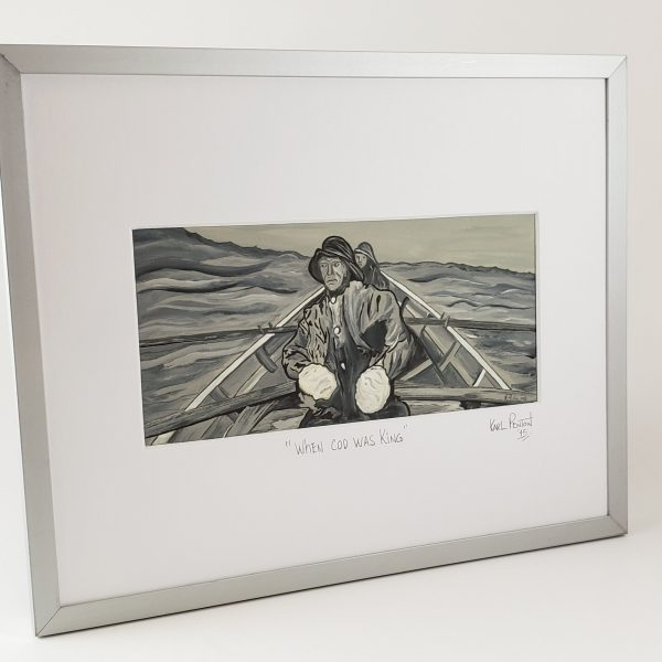 When Cod Was King framed print by Karl Penton