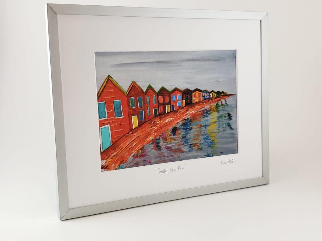 12 in a Row framed print by Karl Penton