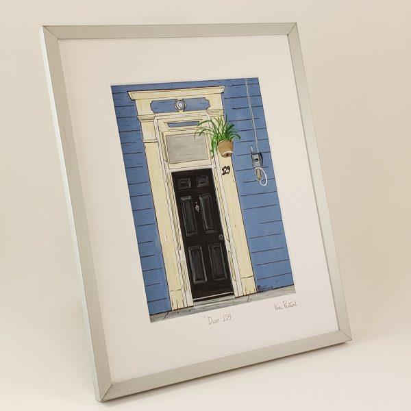 Door 129 framed print by Karl Penton