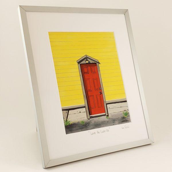 Leave the Light On framed print by Karl Penton