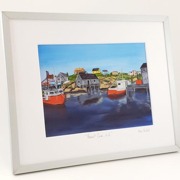 Peggy's Cove framed print by Karl Penton