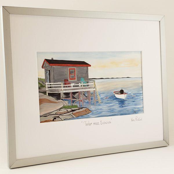 'Taylor' Made Evening framed print by Karl Penton