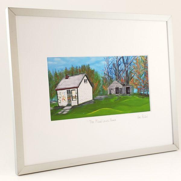 Maud Lewis House framed print by Karl Penton
