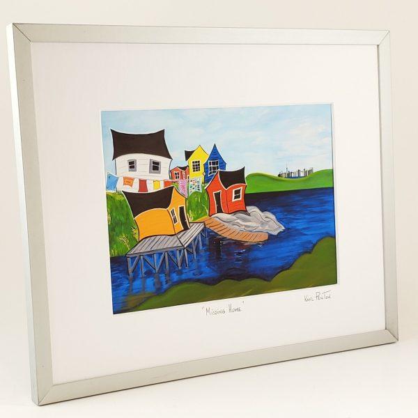 Missing Home framed print by Karl Penton