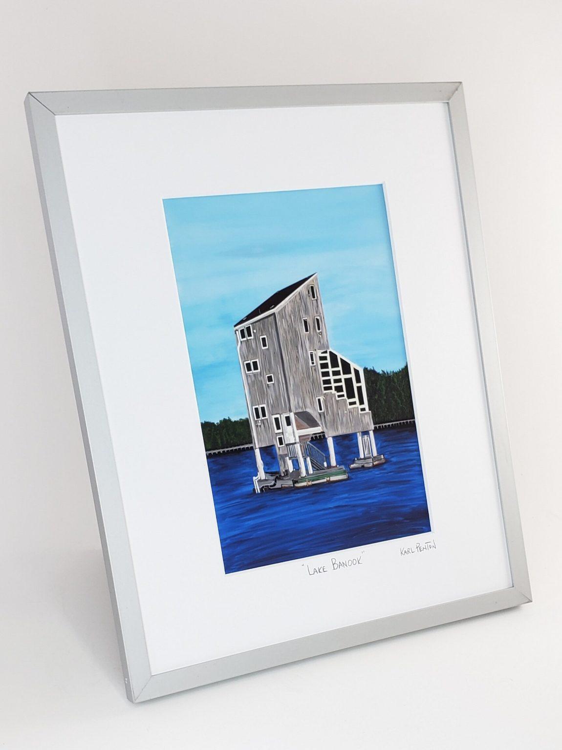 Lake Banook framed print by Karl Penton