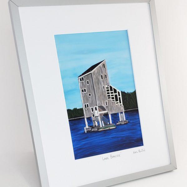 Lake Banook print by Karl Penton