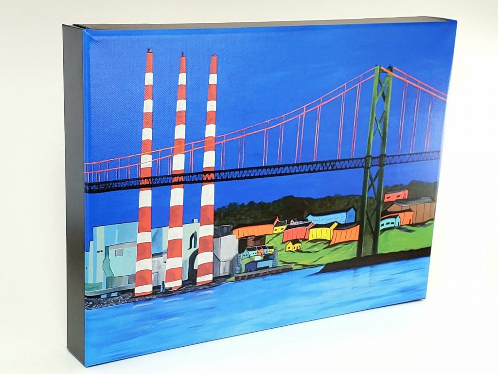 Tuft's Cove gallery wrapped print by Karl Penton