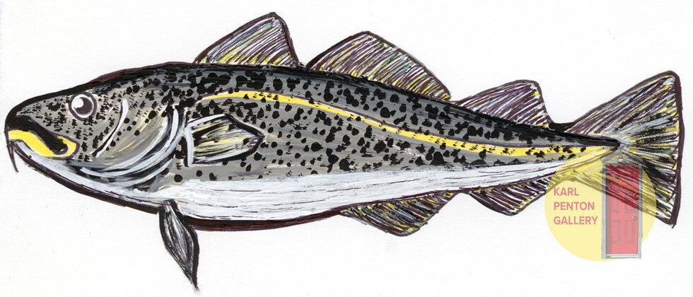 Atlantic Cod by Karl Penton