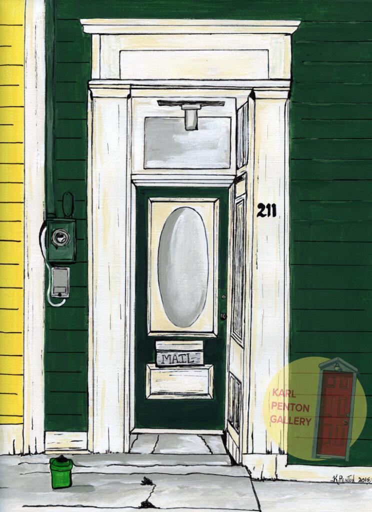 Door 211 by Karl Penton