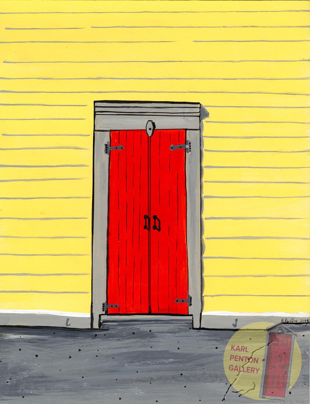 Red Doors by Karl Penton