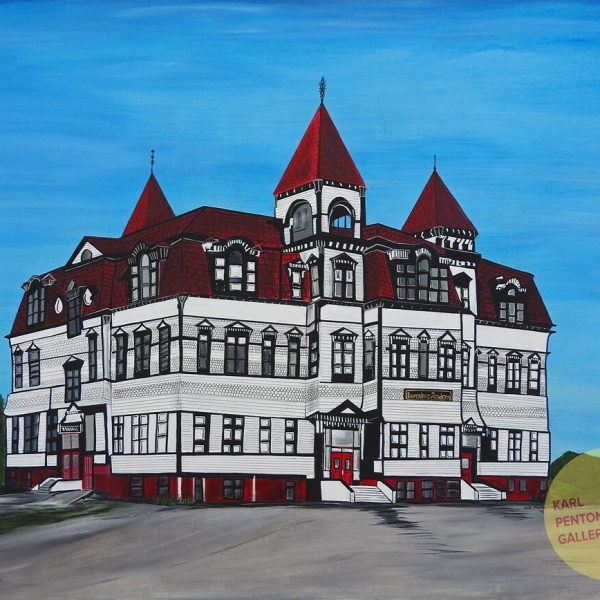 This is the Lunenburg Academy by Karl Penton